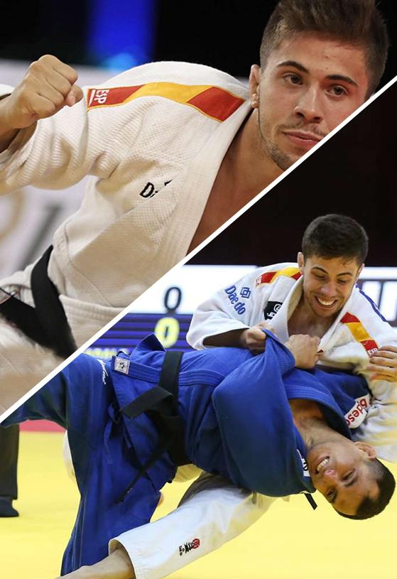 Fran Garrigós compite en Judo, team daedo