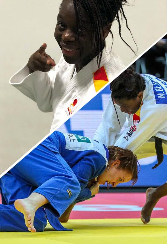 maria bernábeu judo team daedo