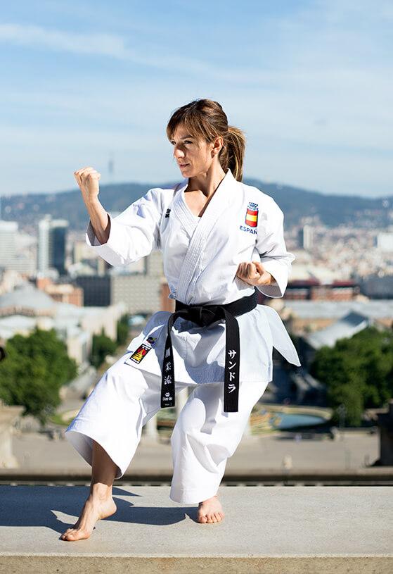 Karateka española de Team Daedo